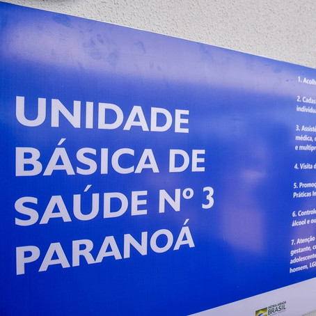 Primeiro equipamento público do Paranoá Parque,  UBS que vai atender os 40 mil moradores.