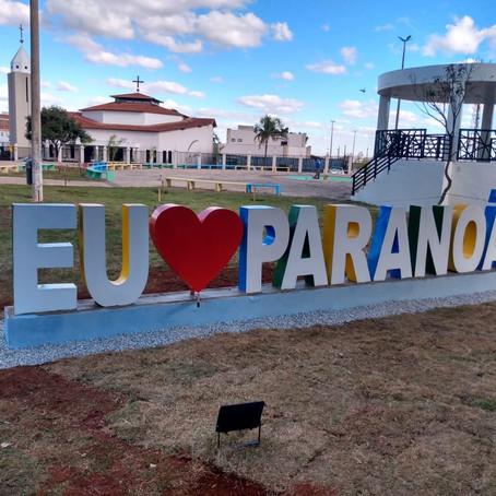 Inauguração da Praça central do Paranoá DF