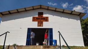 Nossa igreja São Geraldo, faz parte da história do Paranoá ( segunda igreja mais antiga do DF.