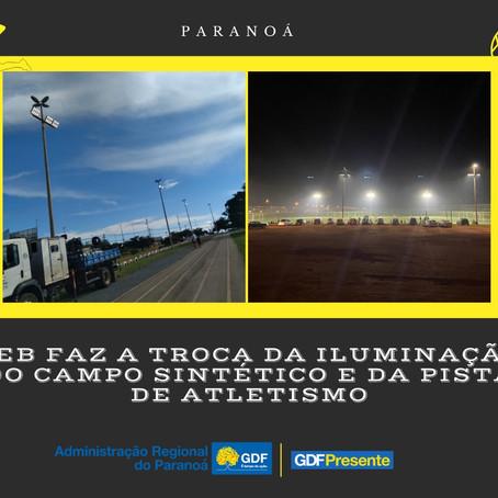 Administração do  Paranoá  trabalhando para deixar a nossa cidade linda, limpa e segura.