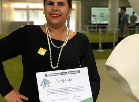 Certificação como Líder Comunitária