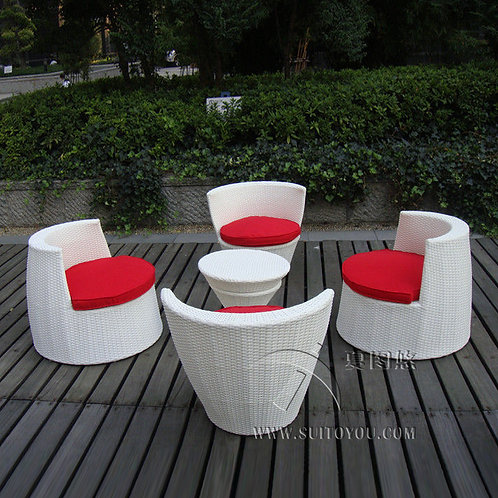 stackable table and chairs