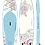 Thumbnail: YOLOBOARD SUGAR SKULL WHITE TURTLE 11'
