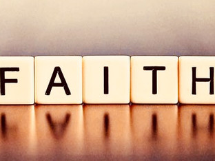 If faith was a scrabble word...how many points would God give you?