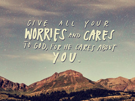 How do you handle worry?