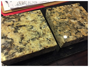 Is the granite a different color?