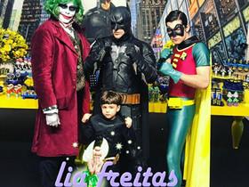 Coringa, Batman e Robin