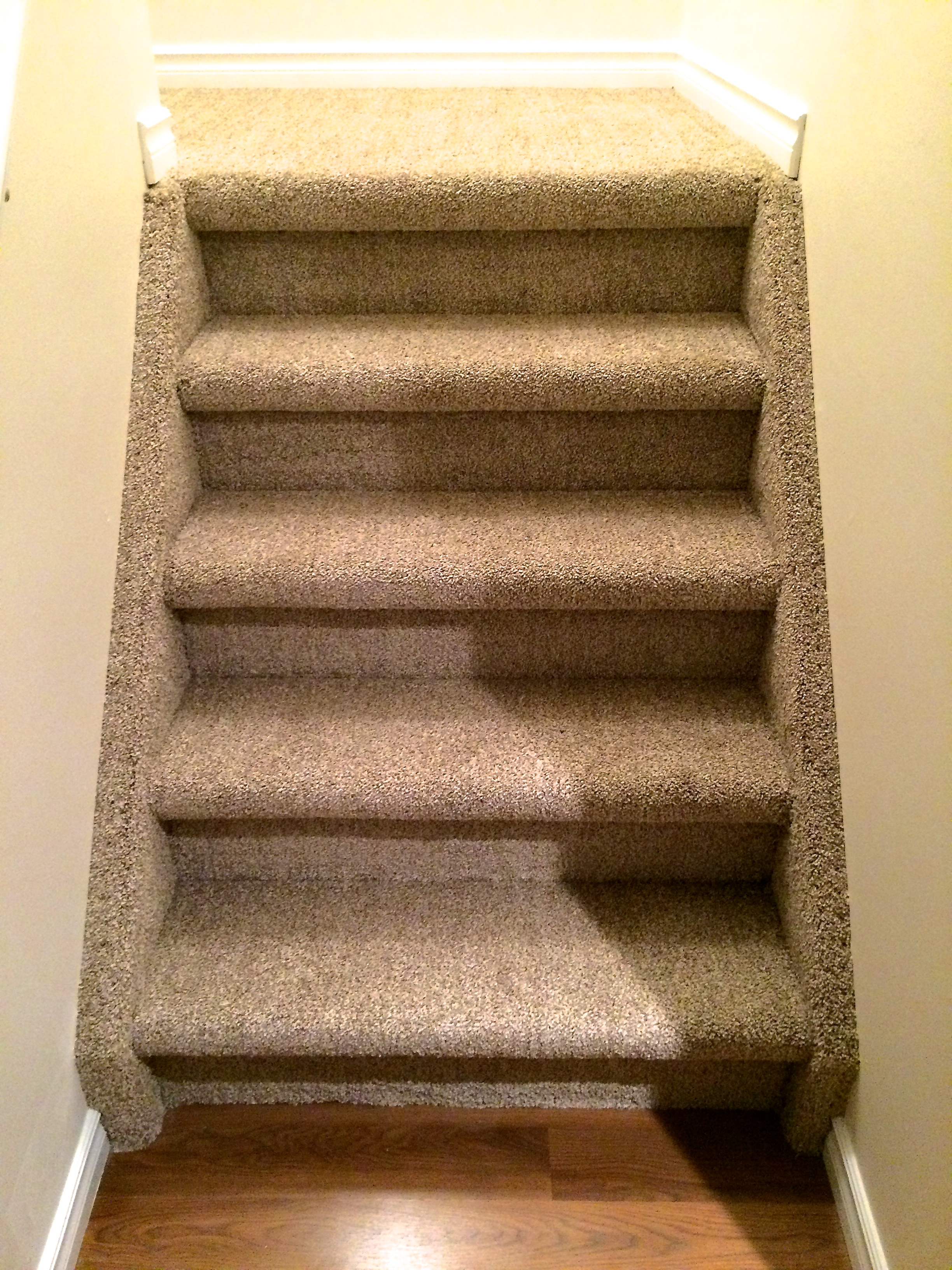 Boxed Stair with Stringers