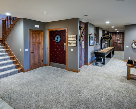 Basement Carpet - Man Cave