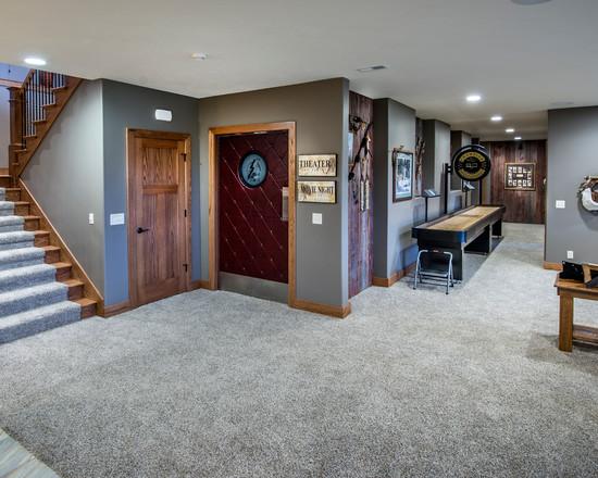 Basement Carpet - Man Cave