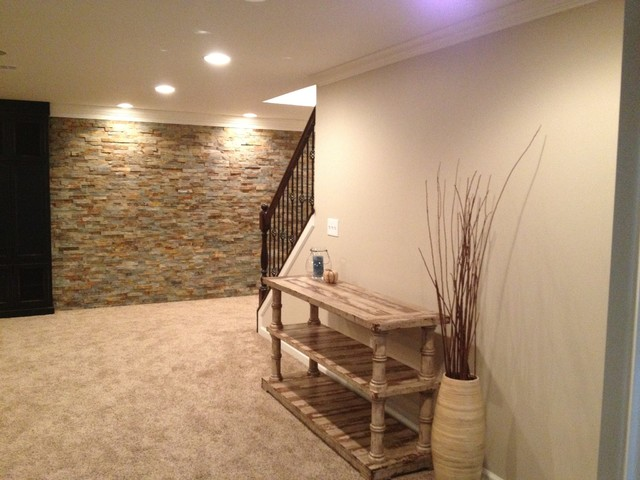 Modern Basement Carpet