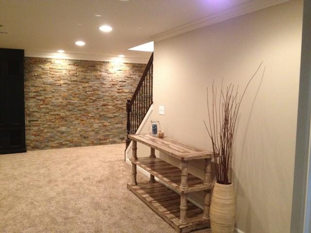 Modern Basement Carpet