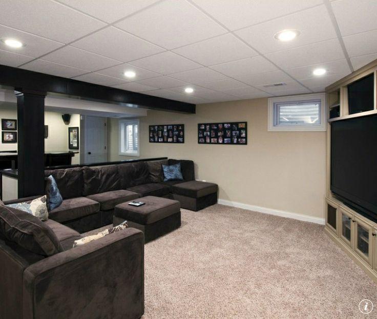Basement Carpet Theatre Room