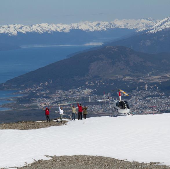Ushuaia helicopter