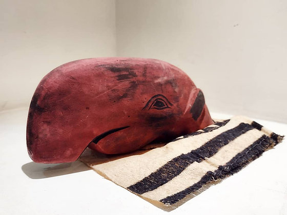 Escultura cabeça da anta