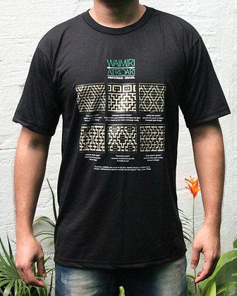Camisa masc. grafismo Waimiri Atroari