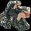 Thumbnail: Animais de borracha com filhotes