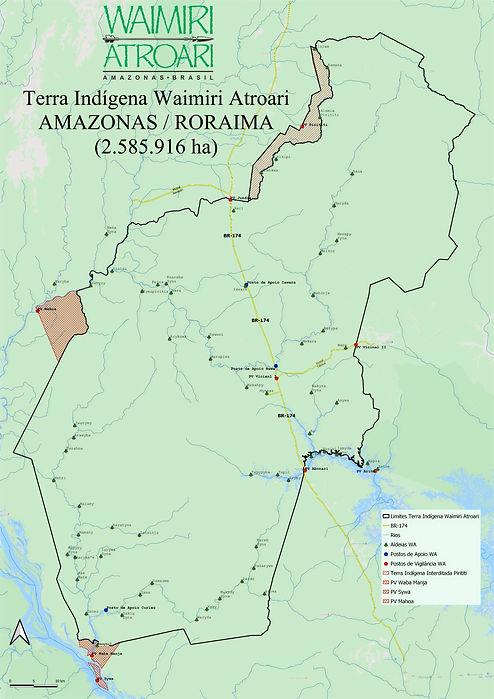 Mapa Waimiri Atroari
