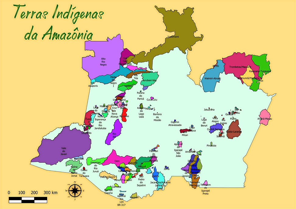 Terras indígenas da Amazônia