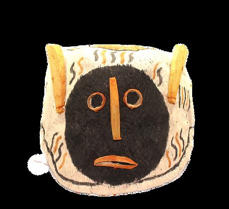 Máscara cabeça mãe de vento