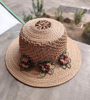 Chapéu de fibra de buriti