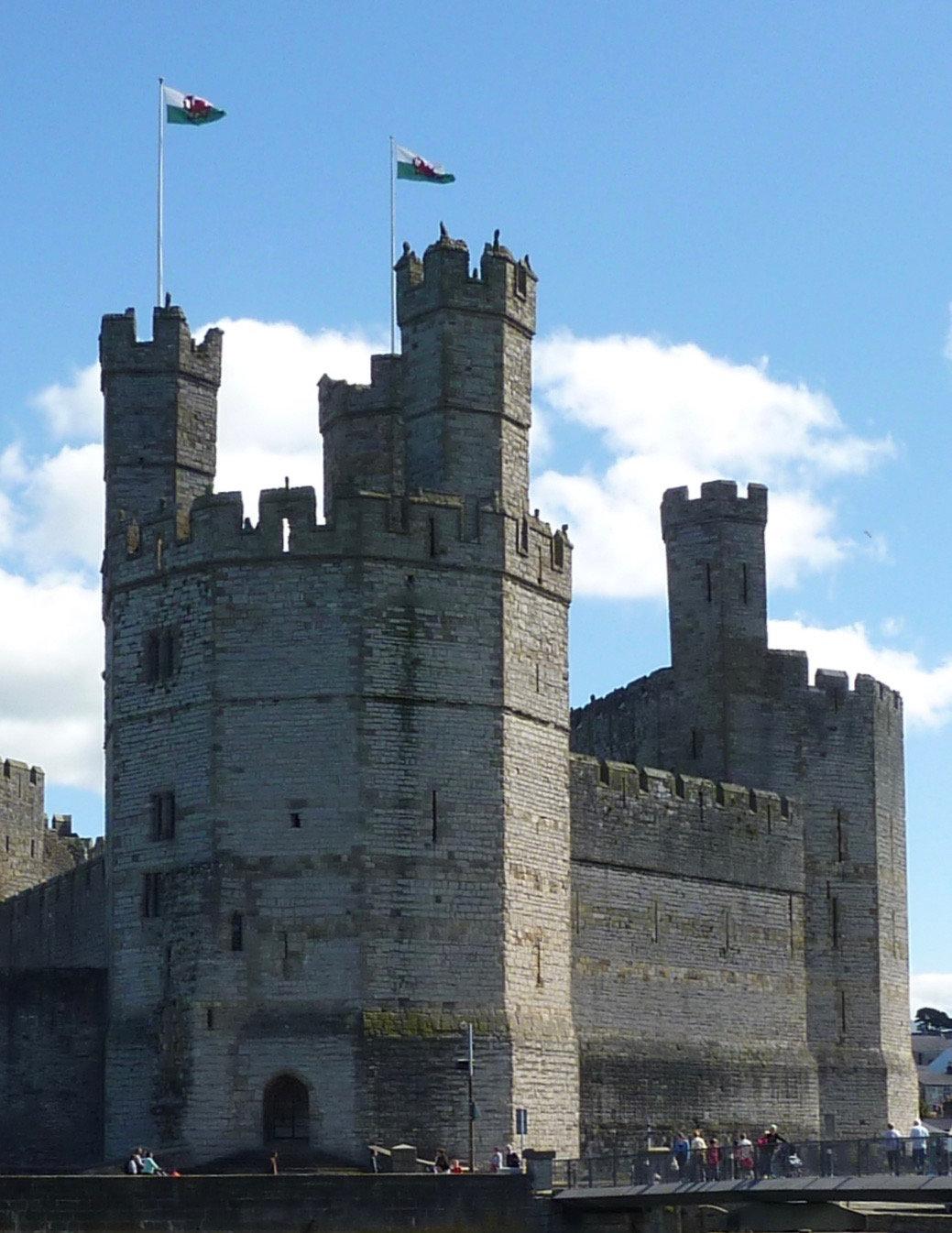 Caernarfon castle tour