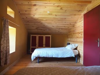 Chambre à 2 lits gîte Haute-Loire