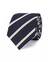crombie-navy-white-stripe-woven-silk-tie