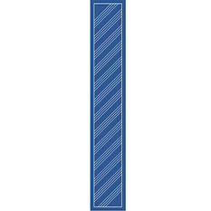 Oblong 137 x 23 scarf
