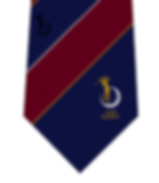 Image of woven club tie in polyester