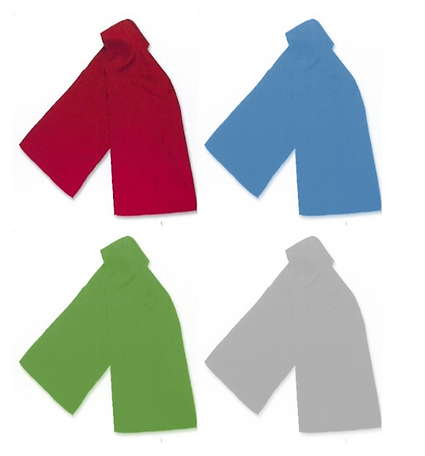 Stock polyester scarf examples