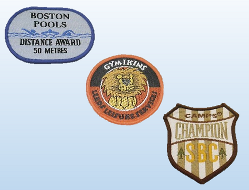 woven badge examples