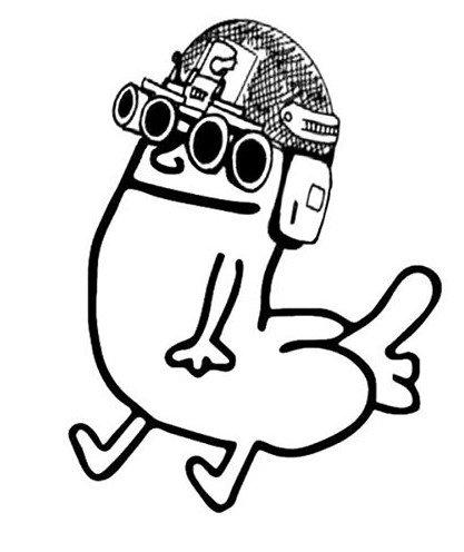 Dick Butt Goon Sticker