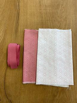 Pakket Pink stof + lint