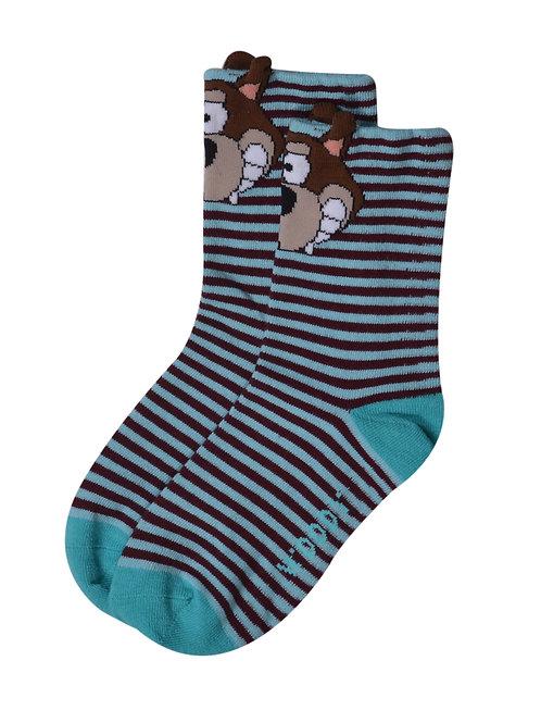 2 paar sokken Wolf