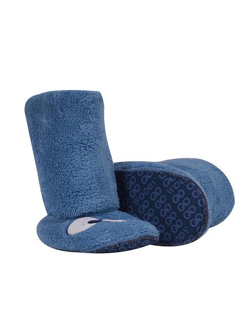 Pantoffels blauw 👀