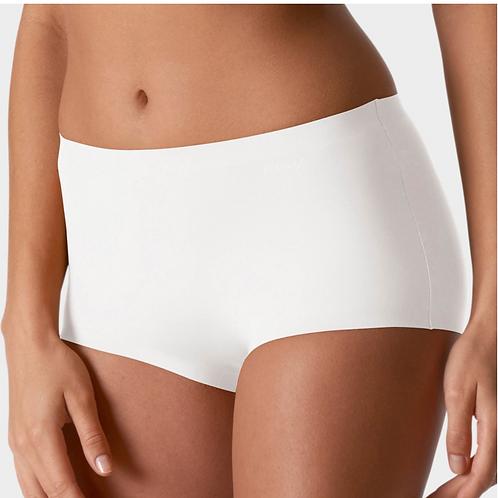 Panty illusion wit/huidskleur/zwart