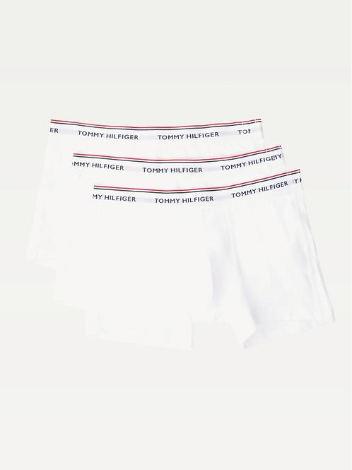 Set van 3 boxershorts van stretchkatoen wit