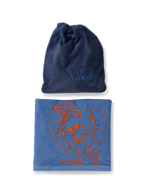Handdoek + zwemzak