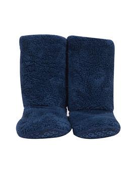 Pantoffels petrolblauw
