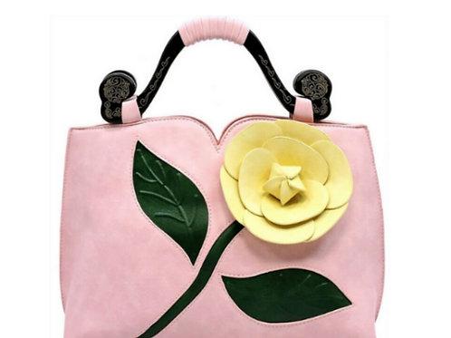 Yellow Rose Handbag