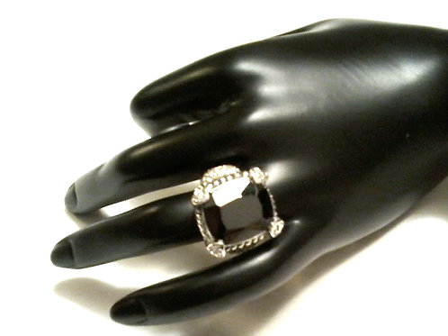 Rock Star Ring -Black