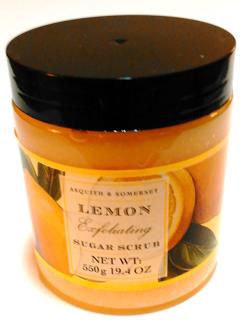 Lemon Exfoliating Sugar Scrub