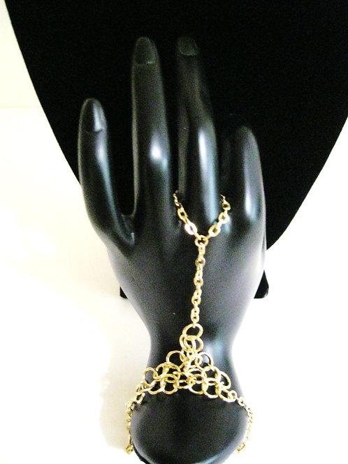 Chainlink Ring Bracelet