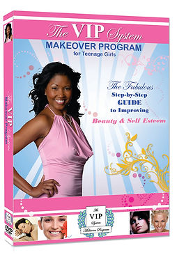 The VIP System Makeover Program, Yalanda Jacques, Beauty DVD, Beauty How-To, Beauty Guide, Teen Makeover, Makeup Instruction, Table Etiquette, Body Language, Hair Care, Skin Care, Basic Manners