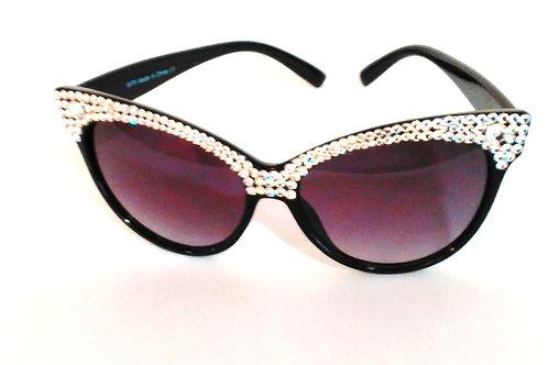 Polished Cat-Eye Sunglasses