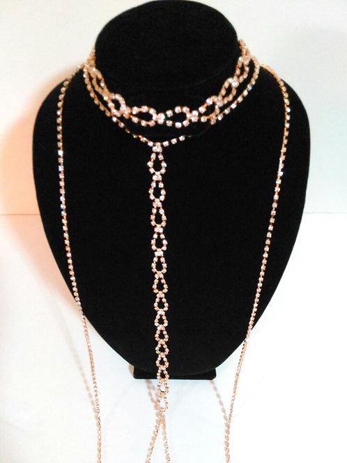 Triple Crown Gold Choker Necklace