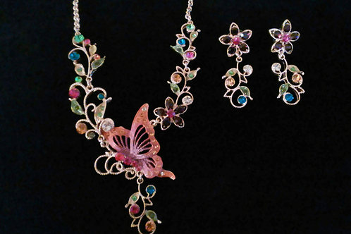 Fairytale Earring & Necklace Set