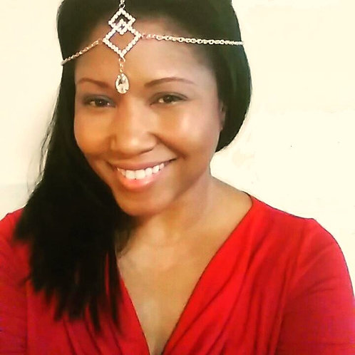 """""""Queen for the Day"""" Headchain"""
