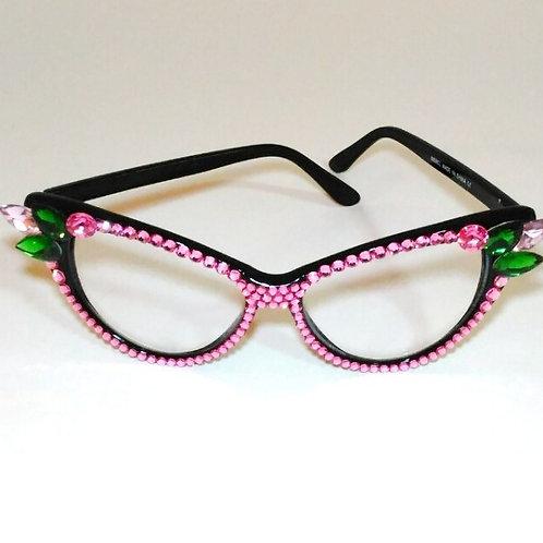Fantasy Ball Cat-Eye Crystal Glasses